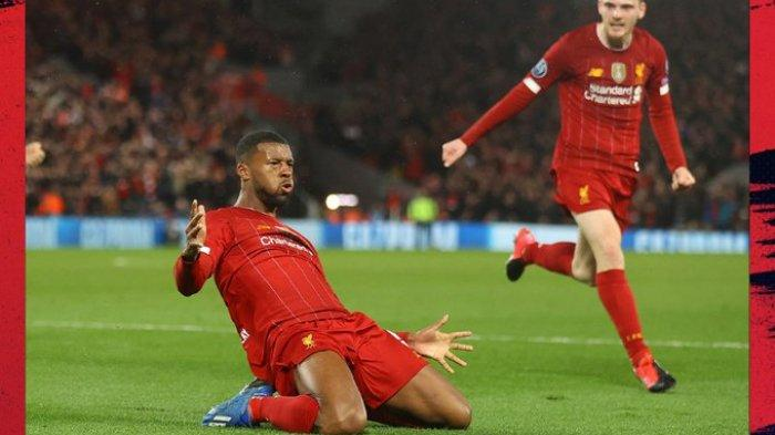 Hasil Liverpool vs Atletico Madrid di Liga Champions, The Reds Unggul di Babak Pertama