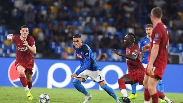 Hasil Liverpool vs Napoli Liga Champions 2019, Mertens Bawa Si Biru Unggul di Babak Pertama