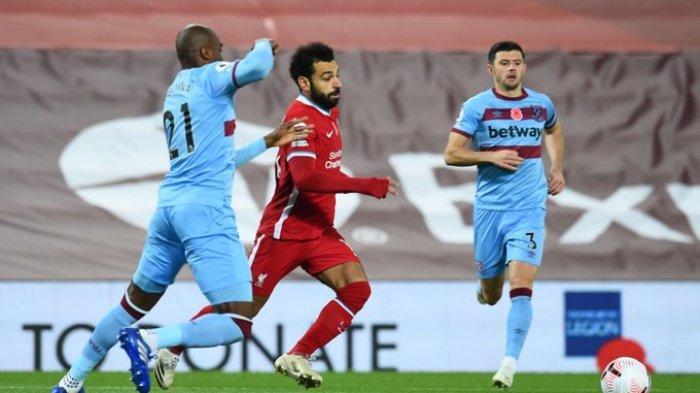 Hasil Liga Inggris - The Reds Comeback, Liverpool Bungkam West Ham 2-1, Diogo Jota Cetak Gol