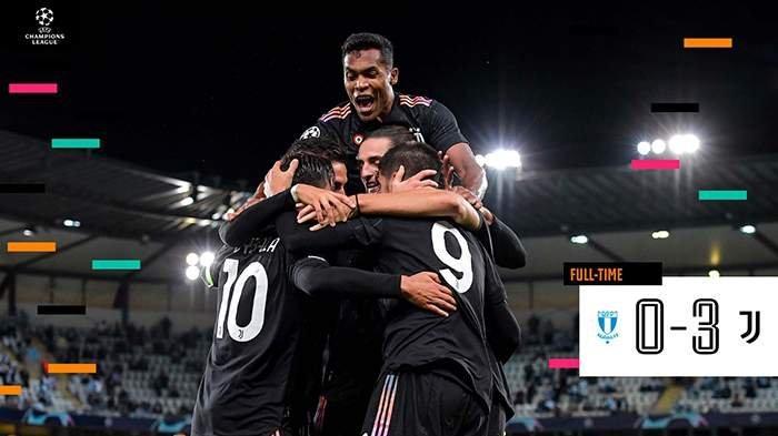 Hasil Juventus vs Malmoe FF, Paulo Dybala & Alvaro Morata Cetak Gol Juve Menang