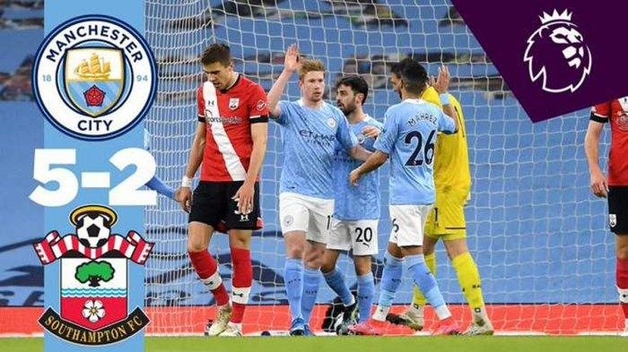 Hasil, Klasemen, Top Skor Liga Inggris, Manchester City Unggul 14 Poin, Ilkay Gundogan 12 Gol