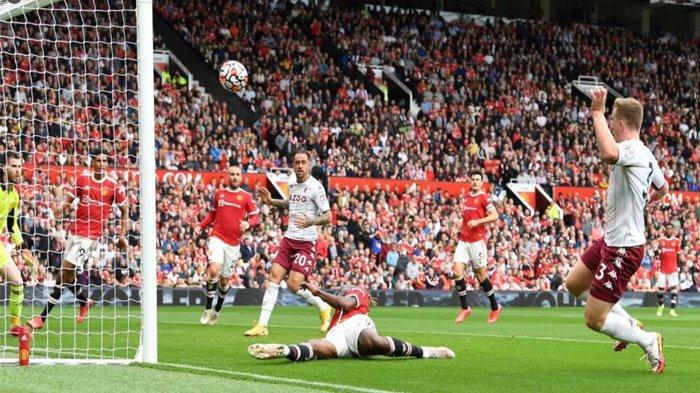 De Gea Nyaris Blunder, Manchester United Ditahan Imbang Aston Villa Babak Pertama