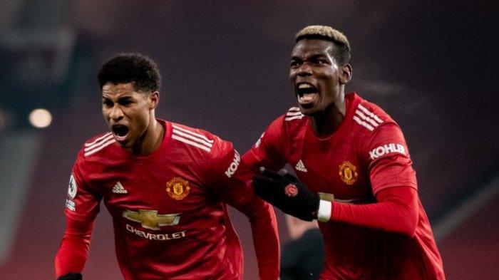 Hasil Liga Inggris - Gol Menit Akhir Rashford Bawa Manchester United Ungguli Wolves