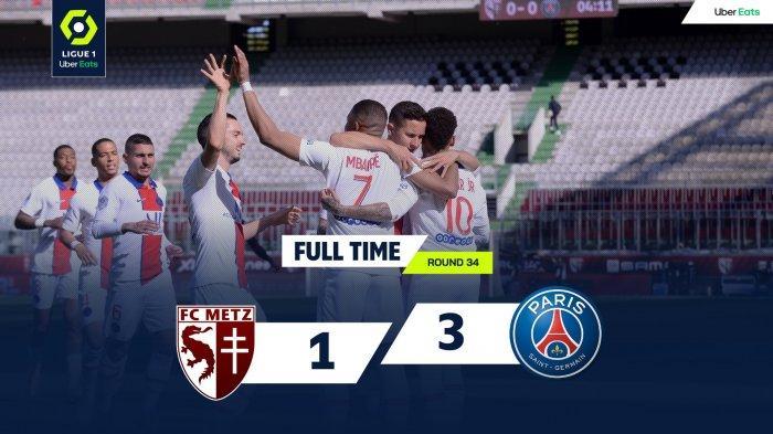 Hasil, Klasemen, Top Skor Liga Prancis Setelah PSG Menang, Marseille Menang, Kylian Mbappe 25 Gol