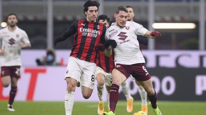 Hasil Coppa Italia - Donnarumma Kartu Merah, AC Milan Kalahkan Torino Lewat Drama Adu Penalti