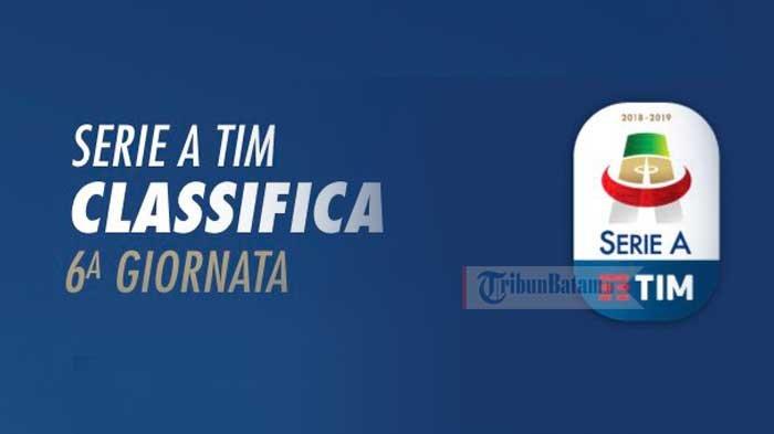 Hasil Lengkap Klasemen Dan Top Skor Liga Italia Serie A Pekan Keenam Juventus Masih Sempurna Tribun Batam