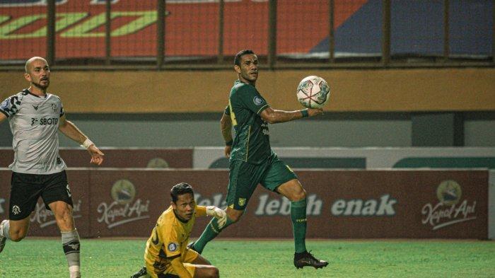 Hasil Liga 1 2021 - Persebaya Surabaya Unggul 3-0 atas Tira Persikabo di Babak Pertama