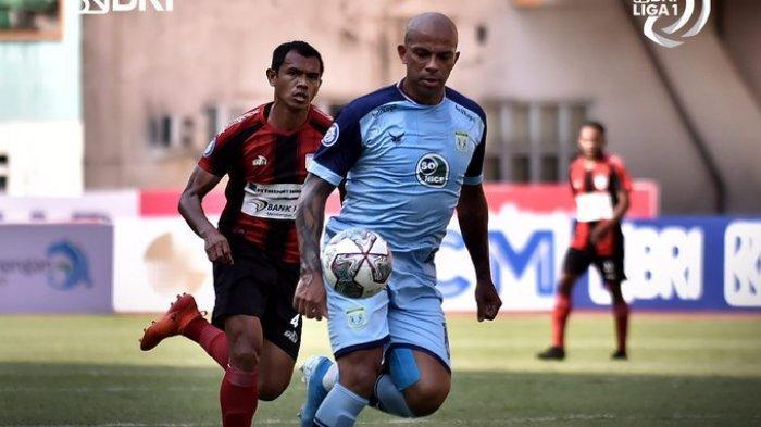 Hasil Liga 1 2021 - Persipura Tumbang Lawan 10 Pemain Persela, Laskar Joko Tingkir Menang 1-0