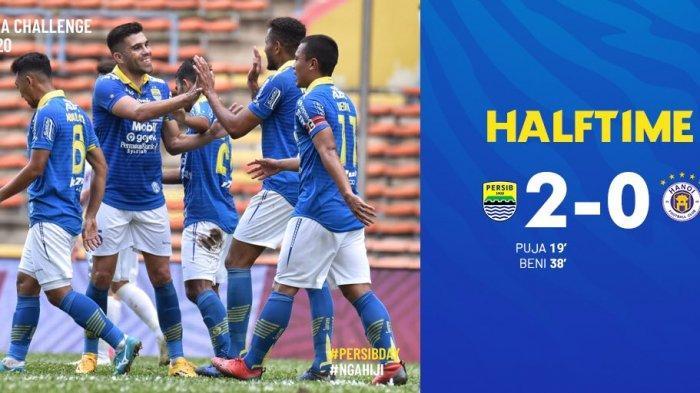 Hasil Persib vs Hanoi FC, Puja Abdillah dan Beni Oktavianto Cetak Gol, Persib Bandung Unggul 2-0