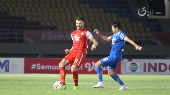Hasil Final Piala Menpora 2021 - Tumbangkan Persib Bandung, Persija Jakarta Raih Gelar Juara