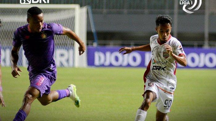 Hasil Liga 1 2021 - Debut Boaz Solossa, Borneo FC Dikalahkan Persik Kediri 0-1