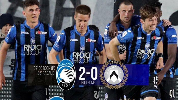Hasil, Klasemen & Top Skor Liga Italia, Atalanta 4 Besar, AC Milan Turun ke Posisi 7, Ronaldo 20 Gol