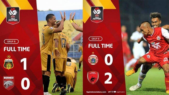 Hasil, Klasemen, Top Skor Piala Menpora Setelah PSM Kalahkan Persija, Bhayangkara FC Menang