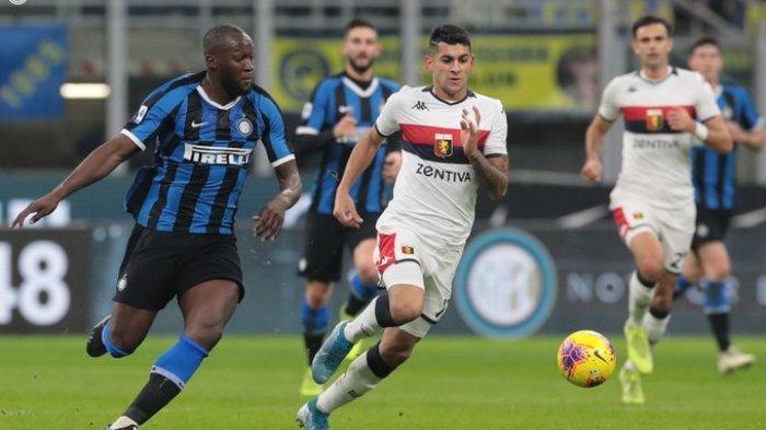 Hasil Liga Italia Inter Milan vs Genoa, Inter Milan Pesta Gol, Romelu Lukaku Sumbang 2 Gol