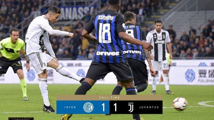 Jadwal Lengkap Liga Italia Pekan ke-7, Inter Milan vs Juventus