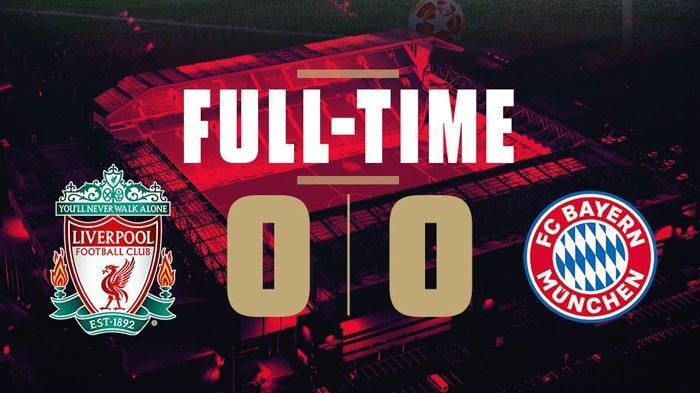 Hasil Akhir Liga Champions Liverpool vs Bayern Muenchen - Bayern Kuasai Bola, Laga Berakhir Seri