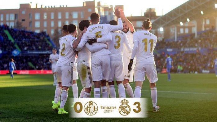 Real Madrid Menang 3-0, Zinedine Zidane: Kami Bermain Sebagai Satu Tim