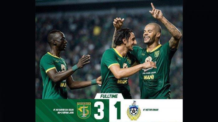 Hasil Persebaya 3-1 Sabah FA, Aji Santoso Senang: Ini Pertandingan yang Luar Biasa