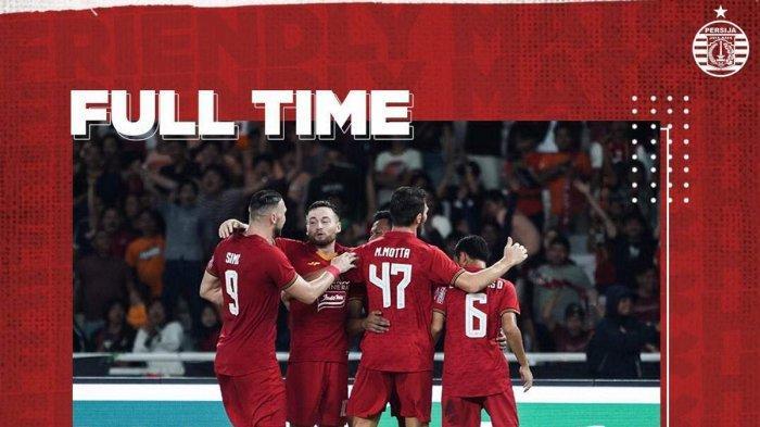 Persija Kalahkan Geylang, Osvaldo Haay Buka Keran Gol, Sergio Farias Senang Persija Main Serius