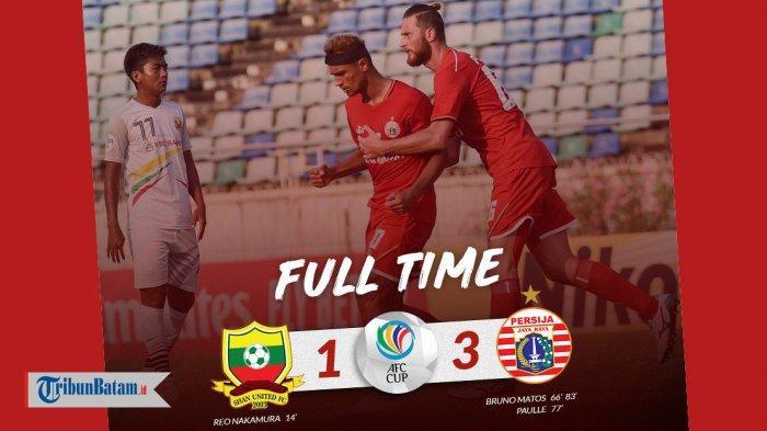 Hasil Matchday 2 dan Klasemen Grup G AFC Cup 2019 Setelah Persija Jakarta Menang 3-1