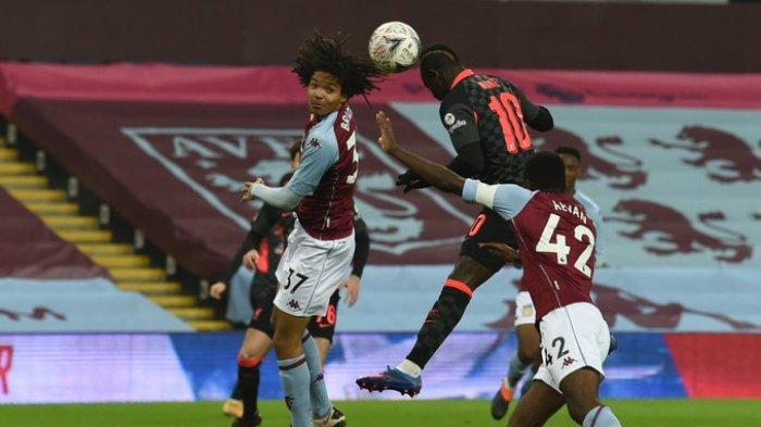 Hasil Piala FA - Dua Gol Sadio Mane Lengkapi Pesta Gol Liverpool ke Gawang Aston Villa