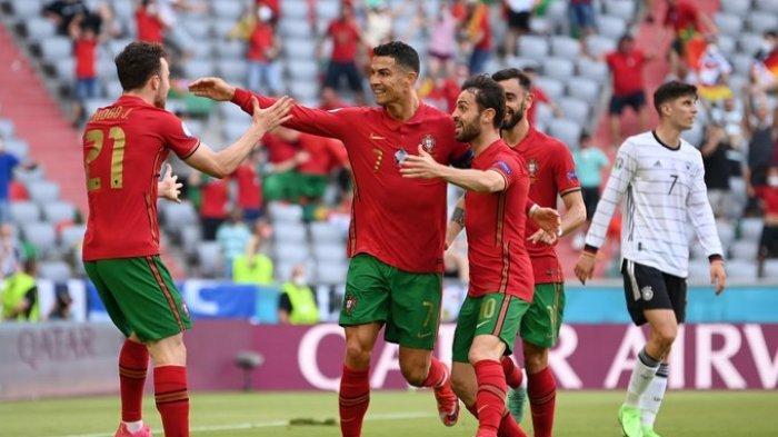 Hasil EURO 2020 - Diwarnai Dua Gol Bunuh Diri, Jerman Ungguli Portugal di Babak Pertama