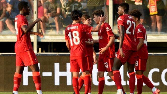 Hasil Ujicoba Pramusim Liverpool, The Reds Menang Lewat Gol Bunuh Diri, Takumi Minamino Main