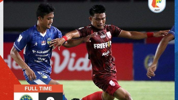 Hasil Liga 2 2021 - Derby Mataram Persis Solo vs PSIM Yogyakarta Berakhir Imbang