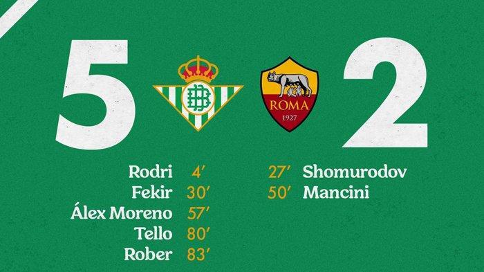 Ujicoba Pramusim Klub Liga Spanyol, Betis 5-2 Roma, Hari Ini Madrid vs Milan, Barcelona vs Juventus