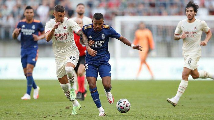 Hasil Real Madrid vs AC Milan, David Alaba Debut, Gareth Bale Gagal Penalti, Real Madrid Imbang