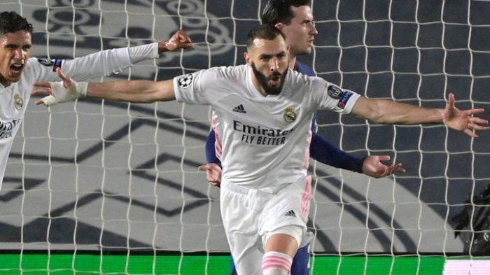 Hasil Liga Champions - Gol Benzema Catatkan Rekor Baru, Real Madrid Ditahan Imbang Chelsea