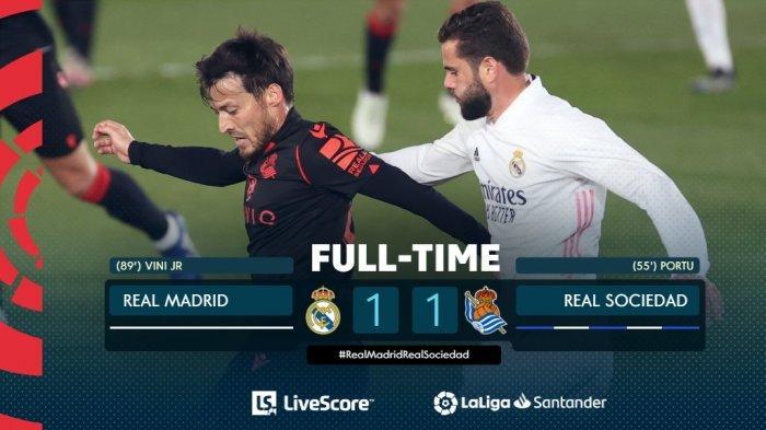 Hasil, Klasemen, Top Skor Liga Spanyol Setelah Real Madrid Imbang, Lionel Messi 19 Gol