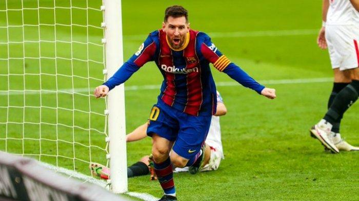 Hasil Liga Spanyol - Gilas Sevilla, Barcelona Kembali Gusur Real Madrid, Messi Makin Gacor