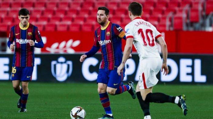 Liga Spanyol Pekan 25, Sevilla vs Barcelona Kick Off Pukul 22.15 WIB: Lionel Messi Belum Habis