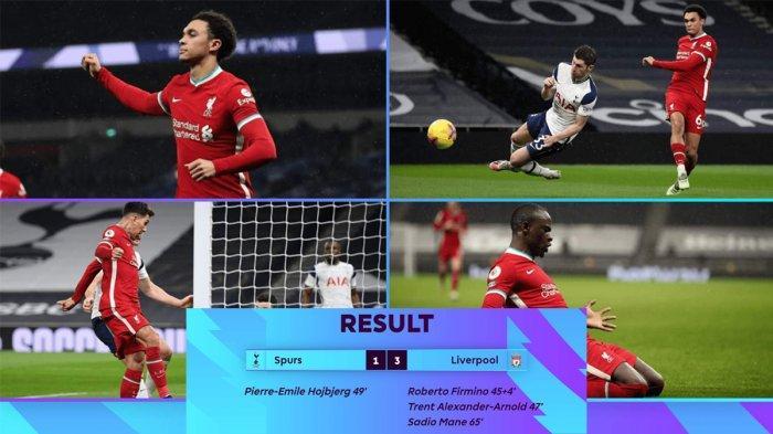 Hasil, Klasemen, Top Skor Liga Inggris Setelah Liverpool Menang, Spurs Kalah, Mo Salah 13 Gol