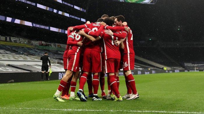 Hasil Liga Inggris Tottenham Hotspur vs Liverpool - Liverpool menang 3-1 atas Tottenham Hotspur Kamis (28/1/2021) malam atau Jumat dinihari WIB