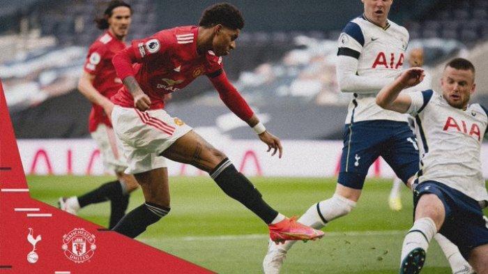 Hasil Liga Inggris - Comeback! Man United Permalukan Tottenham Hotspurs 3-1, Cavani 1 Gol