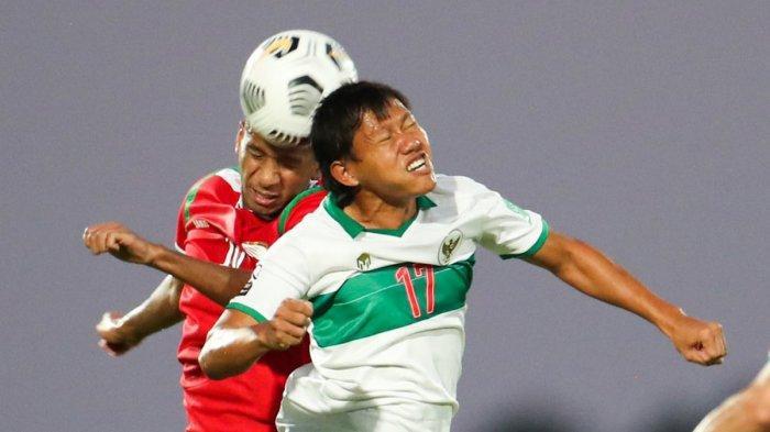 Hasil Timnas Indonesia vs Oman, Evan Dimas Cetak 1 Gol, Timnas Indonesia Kalah 1-3 dari Oman