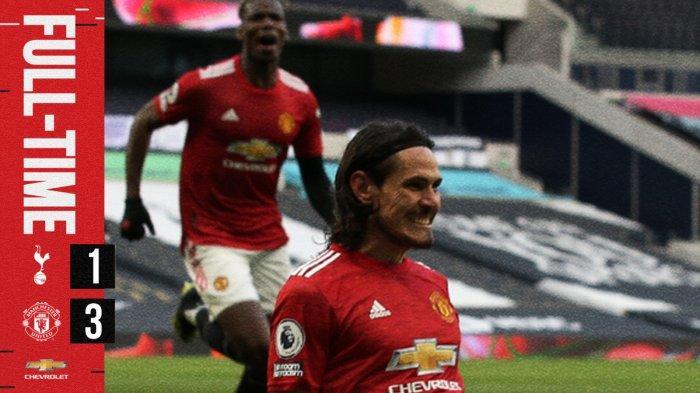 Hasil Tottenham vs Manchester United, Dendam Terbalas, Giliran Spurs Dipermalukan Man United