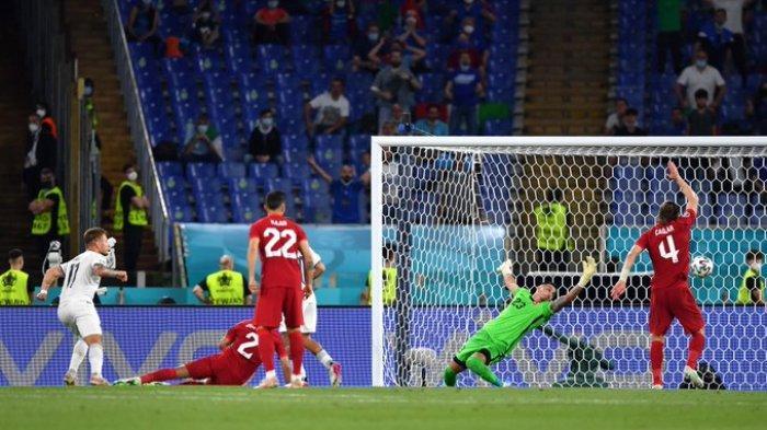 Hasil EURO 2020 - Timnas Italia Lumat Turki 3-0, Ciro Immobile dan Insigne Cetak Gol