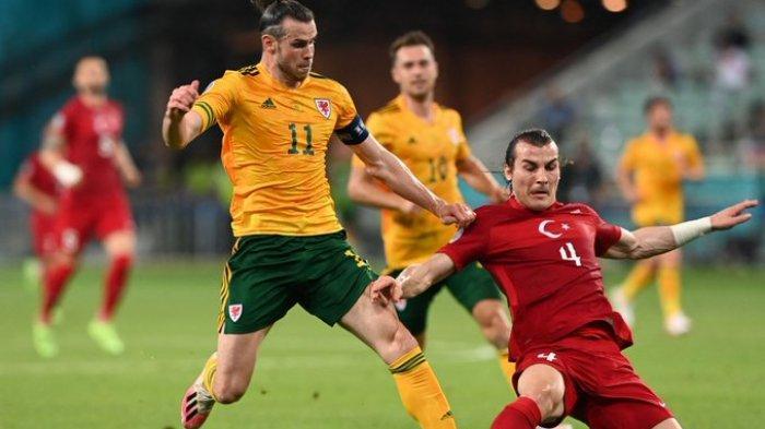 Hasil EURO 2020 - Gareth Bale Gagal Penalti, Wales Tumbangkan Turki 2 Gol Tanpa Balas