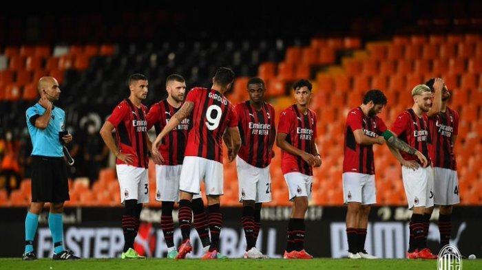 Hasil Ujicoba Pramusim Klub Liga Italia 2021-2022, AC Milan Tumbang dari Valencia