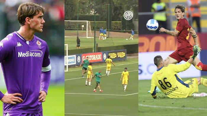 Hasil Ujicoba Pramusim Klub Liga Italia 2021-2022 Inter Milan 8-0, Fiorentina 11-0, AS Roma 5-2