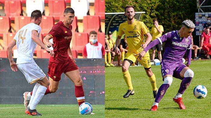 Hasil Ujicoba Pramusim Liga Italia 2021-2022, Inter Milan 4-0, AS Roma 1-0, Lazio 11-0, Venezia 15-0