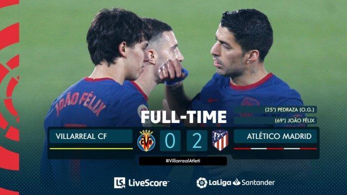 Hasil, Klasemen, Top Skor Liga Spanyol Setelah Atletico Menang, Lionel Messi 19 Gol, Suarez 16 Gol