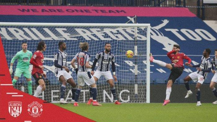 Hasil Liga Inggris - Imbang Lawan West Brom, Bruno Fernandes Selamatkan Man United dari Kekalahan