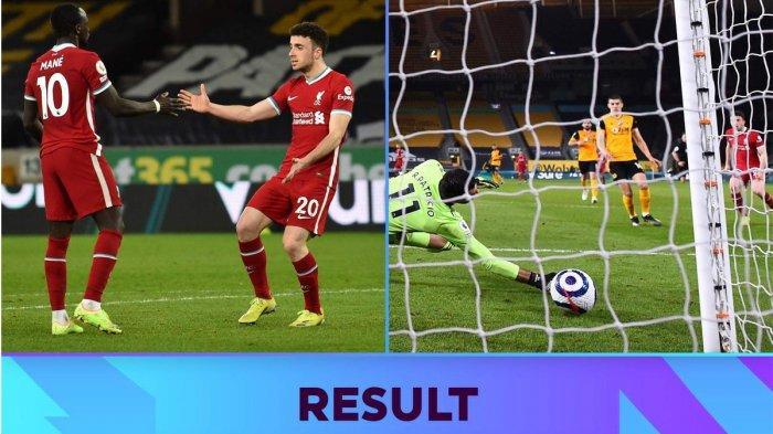 Hasil, Klasemen, Top Skor Liga Inggris Setelah Liverpool Menang Lawan Wolves, Mohamed Salah 17 Gol