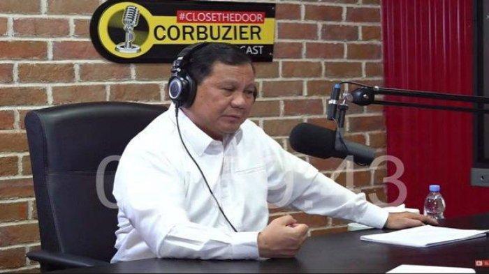 Penjelasan Prabowo Subianto Gabung ke Pemerintah Hingga Sebut IQ Rendah di PodcastDeddyCorbuzier