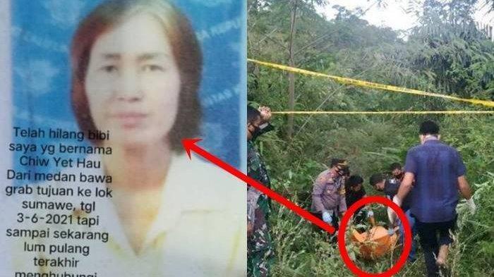 Sopir Taxi Online Wanita Tewas di Jurang, Hilang saat Antar Penumpang dari Medan ke Aceh