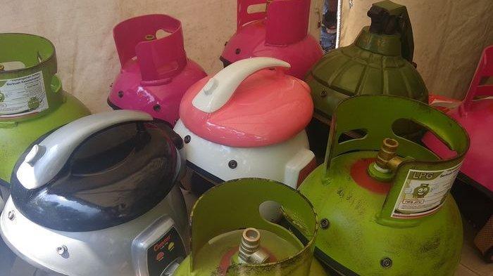 KEREN, Ada yang Jual  Helm Berbentuk Rice Cooker, Granat Sampai Tabung Gas